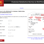 McDVoice Survey - Sign In to www.mcdvoice.com for McDonald's Customer Satisfaction Survey