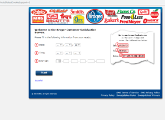 www.KrogerFeedback.com Survey