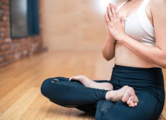 Girl Doing Yoga
