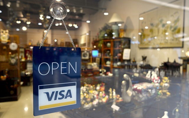 open sign, visa sign, open