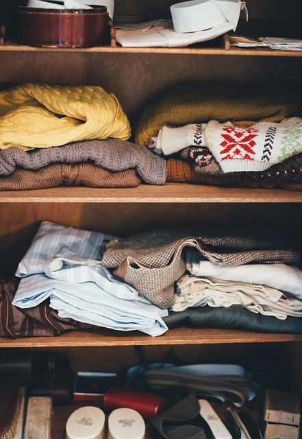 cabinet, clothes, garments