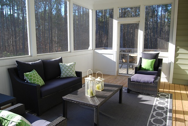 porch, sunroom, indoors