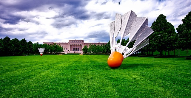 atkins art museum, building, landmark