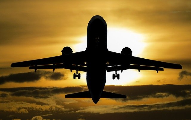 aircraft, vacations, sun