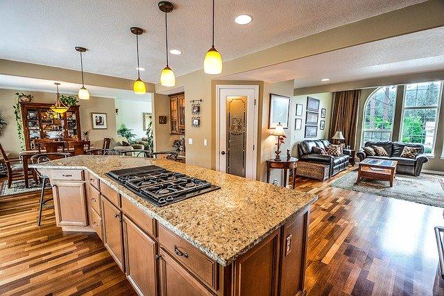 kitchen, home, real estate