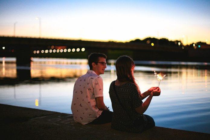 Couple, Guy, Girl, Love, Dating, People, Seaside, Sea