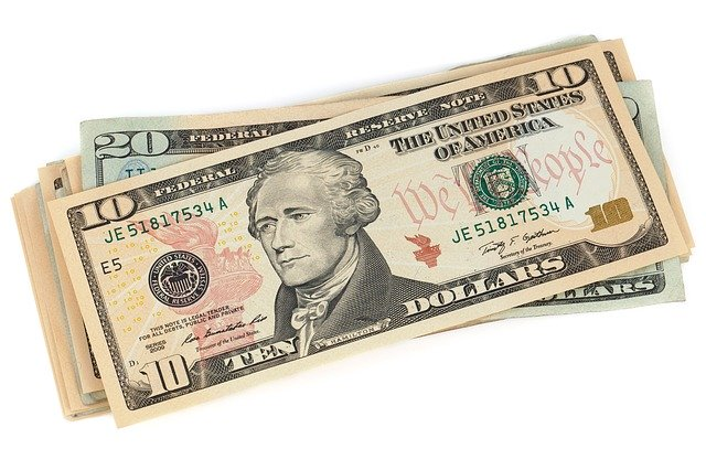one, usa, banknote