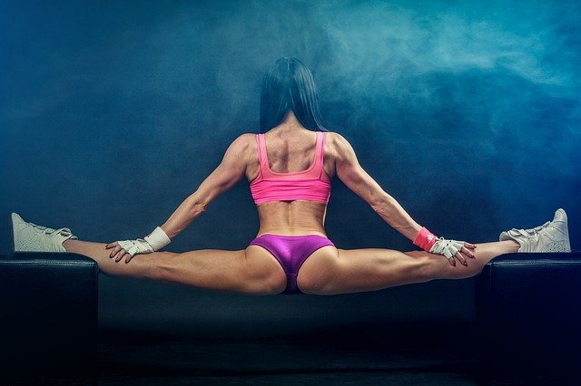 balancing act, splits, fitness